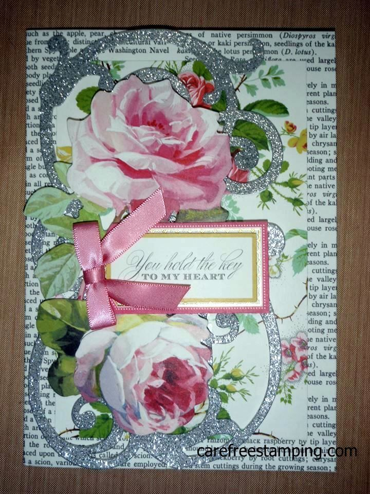 Exceptional Supplies Used: Anna Griffin All About Love Card Kit