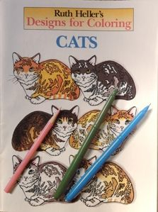 8 Great Cat Themed Coloring Books For Adults