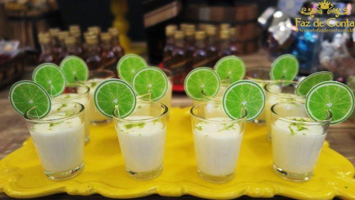 mousse limão caipirinha boteco