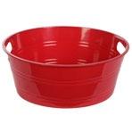 Round Plastic Storage Tubs, 12x4½