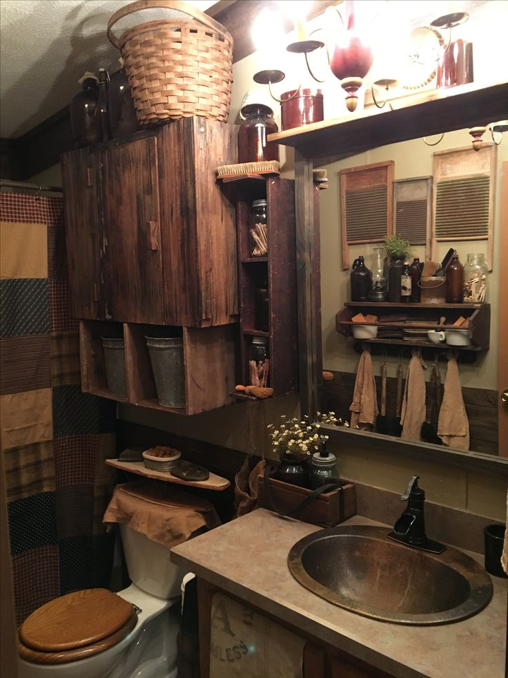 Best 25+ Primitive bathroom decor ideas on Pinterest ...