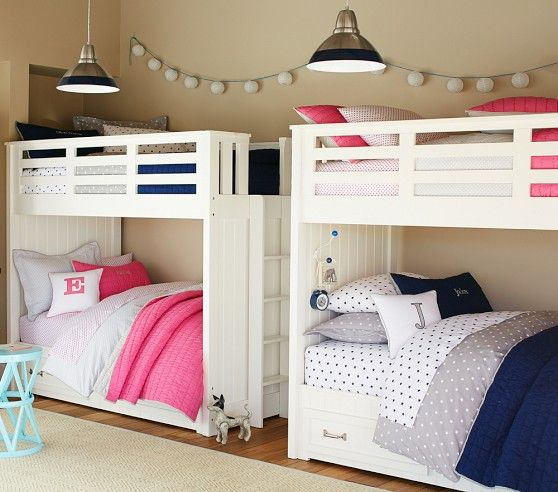 Boys And Girls Shared Room With Bunk Beds Shared Rooms