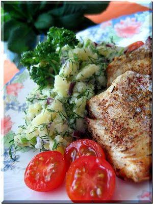 Bramborový salát s koprem