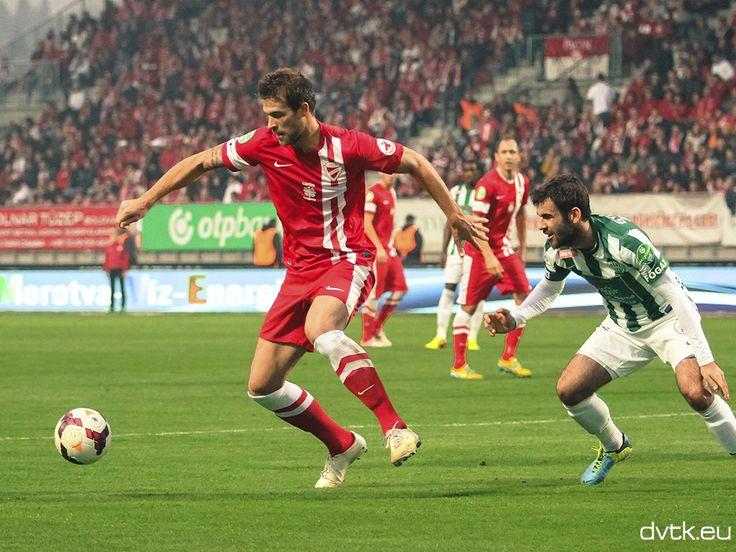 Futács Márkó szerezte a DVTK gólját az FTC ellen