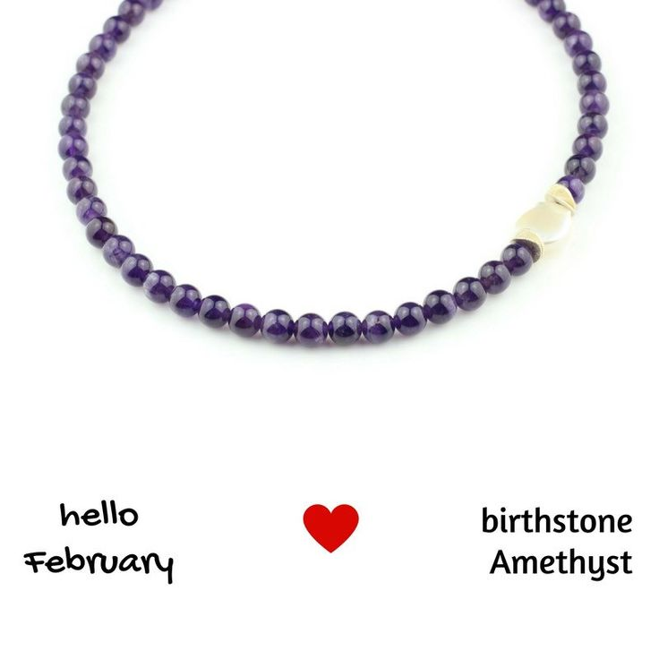 Celebrating the first day of Irish spring🌷and the month of love❤️! The birthstone for February is Amethyst. It is the stone of St. Valentine and faithful love. It carries the energy of fire, passion and creativity.