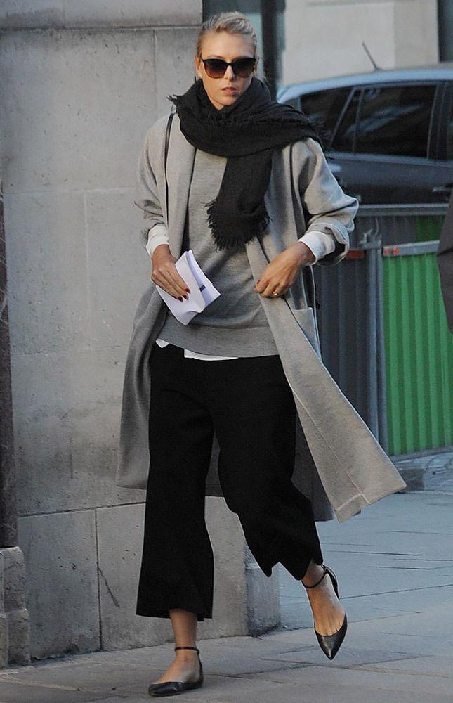Мария Шарапова в Париже