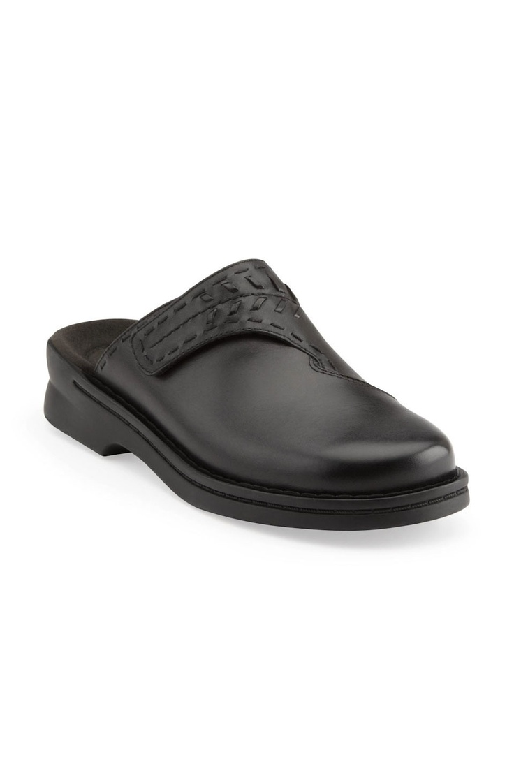 Clarks Patty Morocco Clog In Black - $49.99