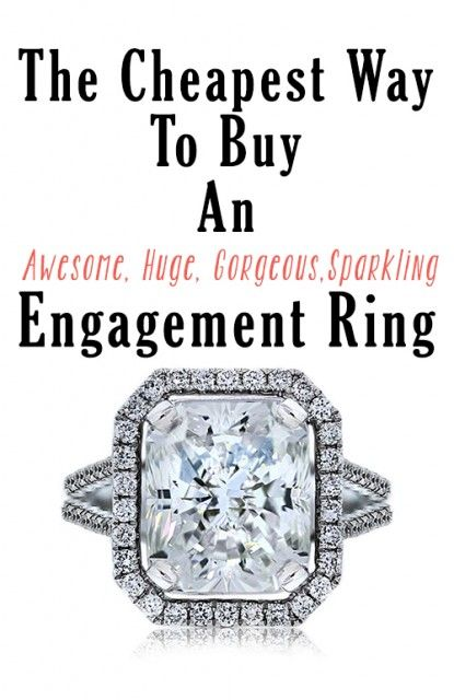 How to buy a huge engagement ring