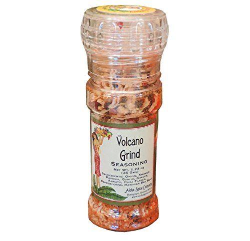 Aloha Spice Company Volcano Grind Seasoning and Refill Bag - http://mygourmetgifts.com/aloha-spice-company-volcano-grind-seasoning-and-refill-bag/