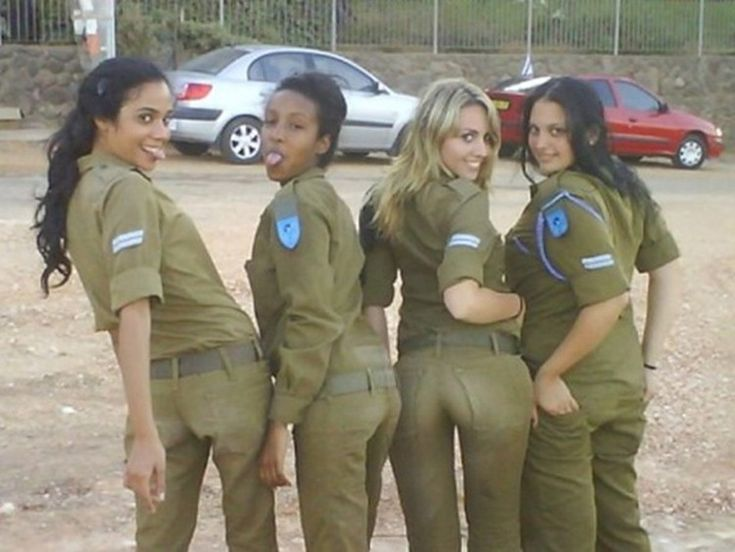 Hot military females naked