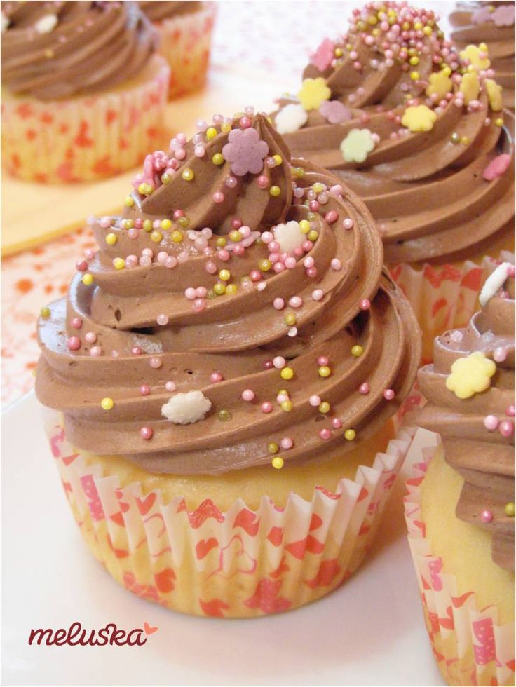 Vaníliás, csokis muffin