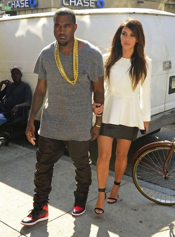 6d8b79f9b23d89 ... Kim Kardashian at the Cosmopolitan Magazines 50th Birthday Celebration  Casual yet classy kimye Dutiful Kanye West ...