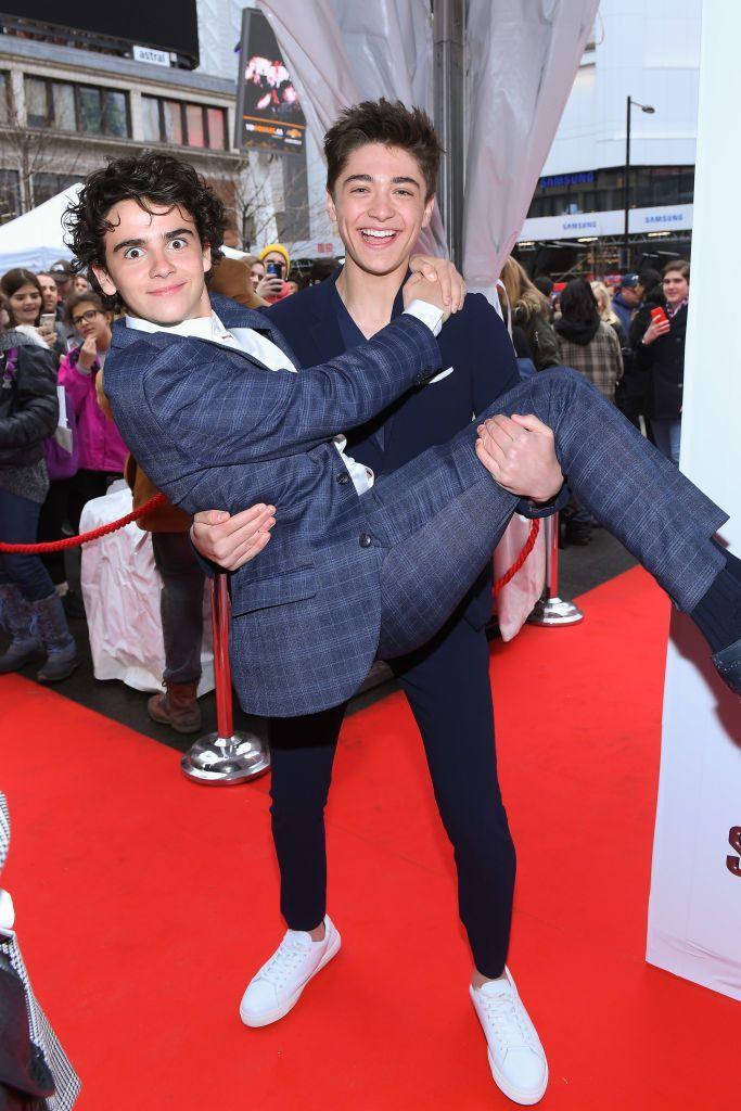 TORONTO, ONTARIO MARCH 14 Jack Dylan Grazer and Asher