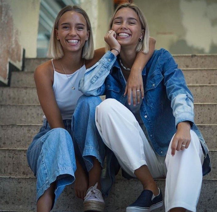 Lisa And Lena In 2020 Lena Lisa Outfits