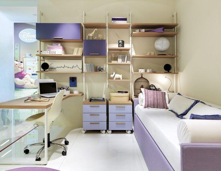 Composición con cama tipo sofa---------------- #dormitorio para #jóvenes y #niños - Doimo Cityline Encuentralo en Pasión D Casa Costa Rica https://www.facebook.com/pasionDcasa