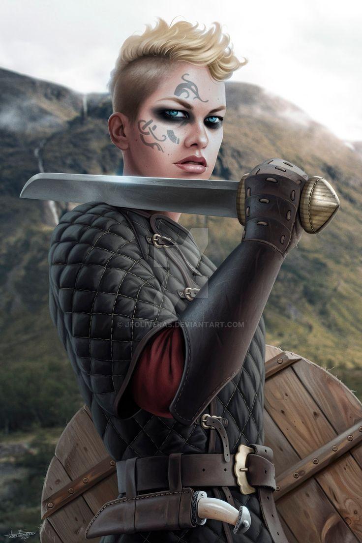 Shieldmaiden by JFoliveras