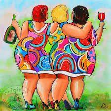 Afbeeldingsresultaat voor dikke dames schilderen workshop