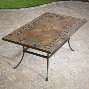 cool tile table
