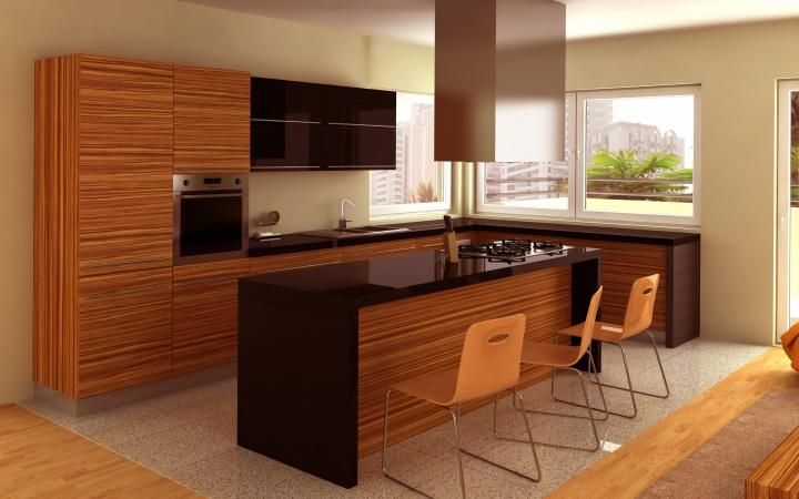 Modelos de cocinas integrales para espacios peque os for Modelos de cocinas en espacios pequenos