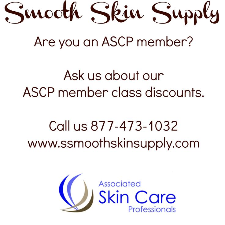 Esthetician classes & brazilian waxing class discounts with Smooth Skin Supply  Are you an ASCP member??