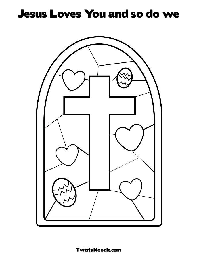 Jesus Loves You Coloring Pages Love Coloring Pages Cross