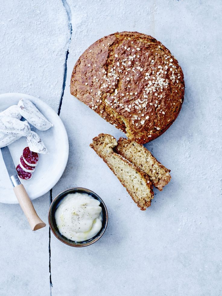 Stevig aardappelbrood met crème van aardpeer - Libelle Lekker