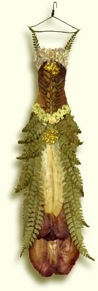 Faeries too have what-to-wear-issues! here is a lovely gown