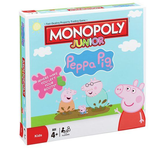 Buy Peppa Pig Monopoly Junior Board Game at Argos.co.uk, visit Argos.co.uk to shop online for Board games, Board games, jigsaws and puzzles, Toys