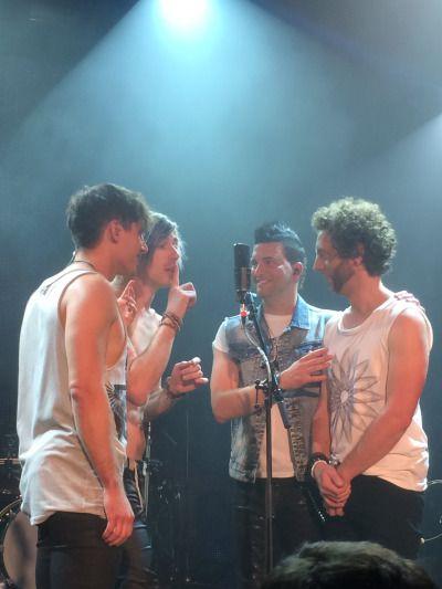 Matt Webb, Josh Ramsay, Mike Ayley, Ian Casselman. ❣