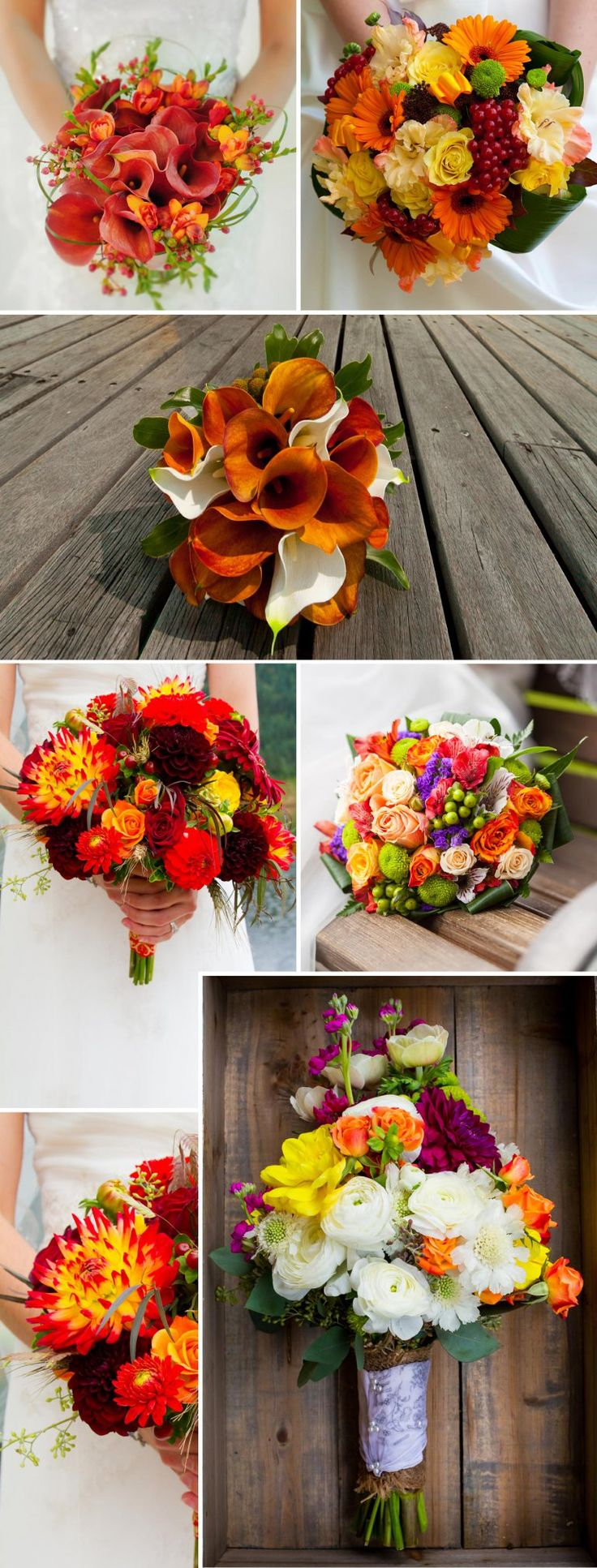Die 38 schönsten Brautsträuße für den Herbst   – Herbstliche Hochzeit