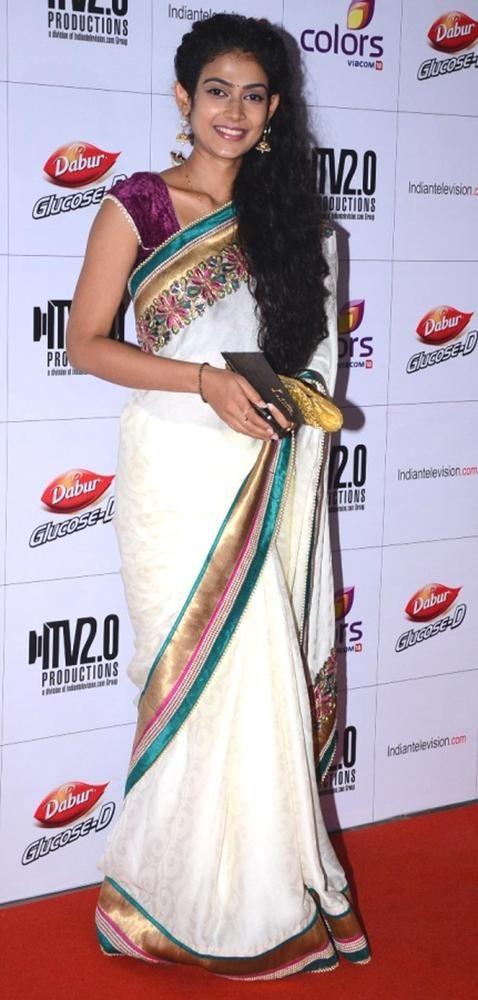 Akanksha Singh at the Indian Telly Awards 2013 #Bollywood #Fashion