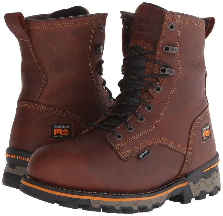 Hombre Gridworks 8 Soft Toe Impermeable Industrial y Zapato de construcci¨®n, Brown Full Grain Leather, 14 M US