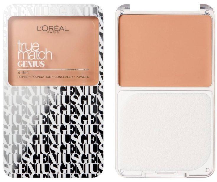 Η L'Oreal Paris φέρνει τα 4 επαγγελματικά βήματα για αψεγάδιαστη επιδερμίδα, σε ένα προϊόν! Το True Match Genius 4-in-1 Compact Foundation απαλύνει το δέρμα όπως ένα primer, καλύπτει όπως ένα foundation, διορθώνει όπως ένα concealer και σετάρει όπως μία πούδρα. Η micro – matching