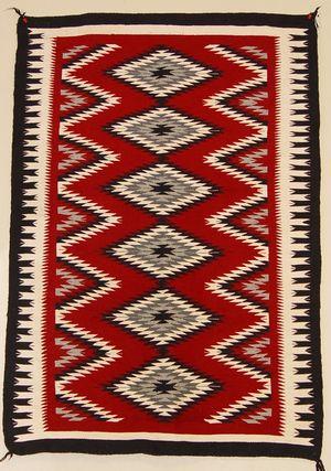 Ganado Navajo rug. #modernsouthwest