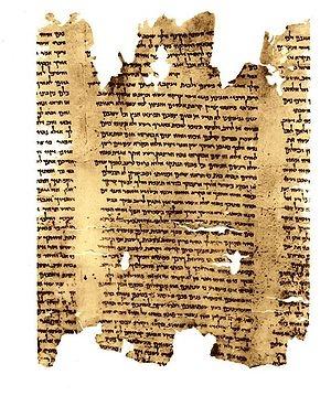 Dead Sea Scrolls - Wikipedia APOSTOLIC / PENTECOSTAL /CHRISTIAN