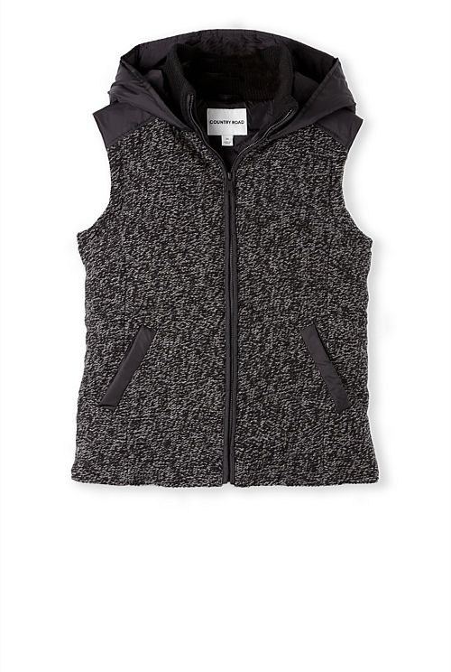 Speckled Puffer Vest