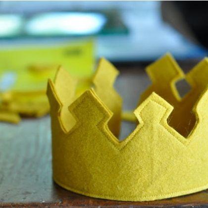 Royal Felt Crown
