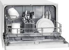 Bomann TSG 707 Tischgeschirrspüler EEK: A+, 6 Maßgedecke, weiß
