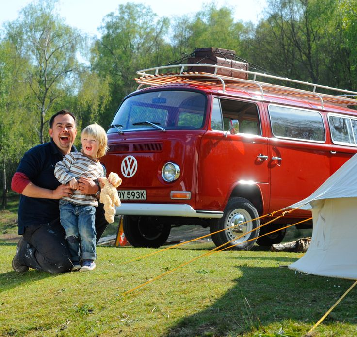 Hire a Camper Van - This is Billy and he comes with a Bell Tent on the Roof Rack! www.cjscampers.com