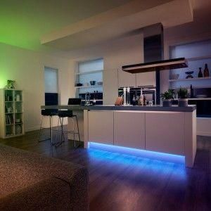 How To Use LED Strip Lighting In Your Kitchen Hue