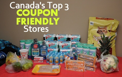 Canada's Top 3 Coupon Friendly Stores via MrsJanuary.com #extremecouponing