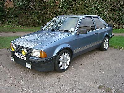 Ford Escort RS1600i Caspian Blue - A906 XRD   - http://www.fordrscarsforsale.com/4389