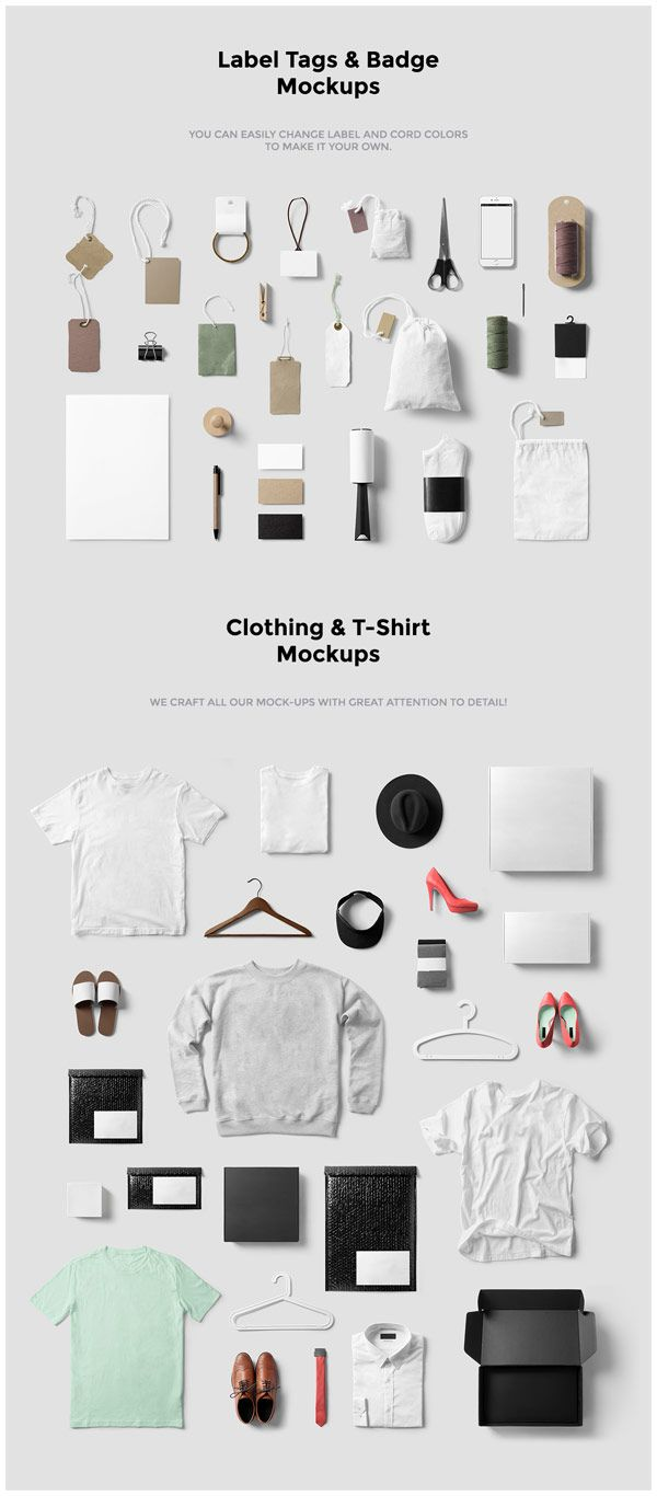 Fashion, Clothing, T-Shirt Mockup from forgraphic™
