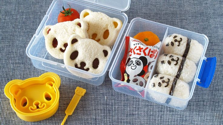 In English and easy to follow How to Make Western-Style Panda Lunch Box Recipe アメリカンなランチボックスの作り方 (GIVE...