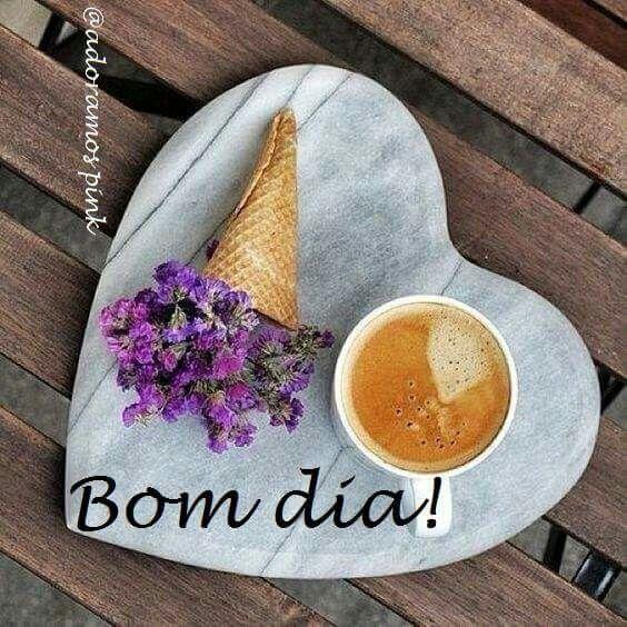 Bom dia, povo alegre! ✌☕
