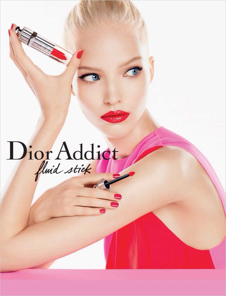 Sasha Luss for Dior Addict SS 2014 Campaign by Steven Meisel #SashaLuss #Dior