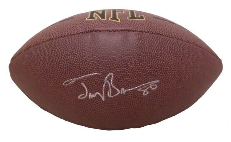 Troy Brown Autographed NFL Wilson Composite Football, Proof Photo. Troy Brown Signed NFL Football, New England Patriots, Marshall Thundering Herd, Proof  This is a brand-new Troy Brown autographed NFL Wilson composite football.  Troy signed the football in silver paint pen. Check out the photo of Troy signing for us. ** Proof photo is included for free with purchase. Please click on images to enlarge. Please browse our website for additional NFL & NCAA football autographed collectibles. 2…