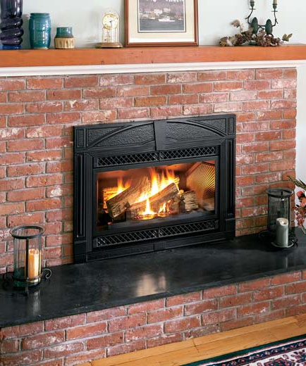 18 Best Images About Fireplaces On Pinterest Fireplace Inserts Stove And Pellet Stove Inserts