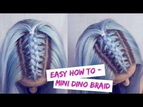 Unicorn Braid - Pull Through Braid Tutorial | LoveFings - YouTube