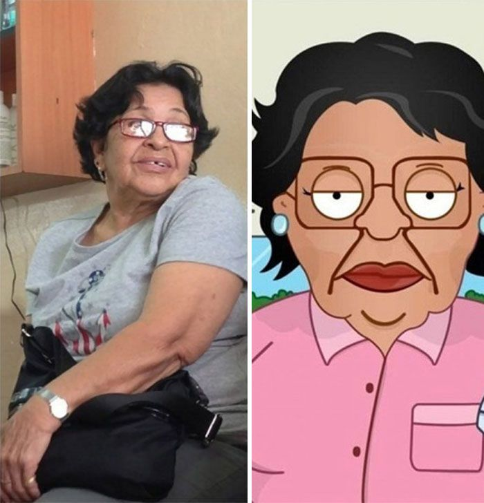 Consuela De Family Guy en vida real